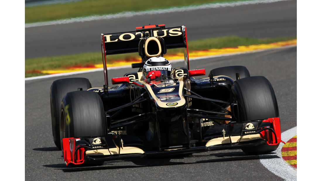 Kimi Räikkönen - Lotus - Formel 1 - GP Belgien - Spa-Francorchamps - 1. September 2012