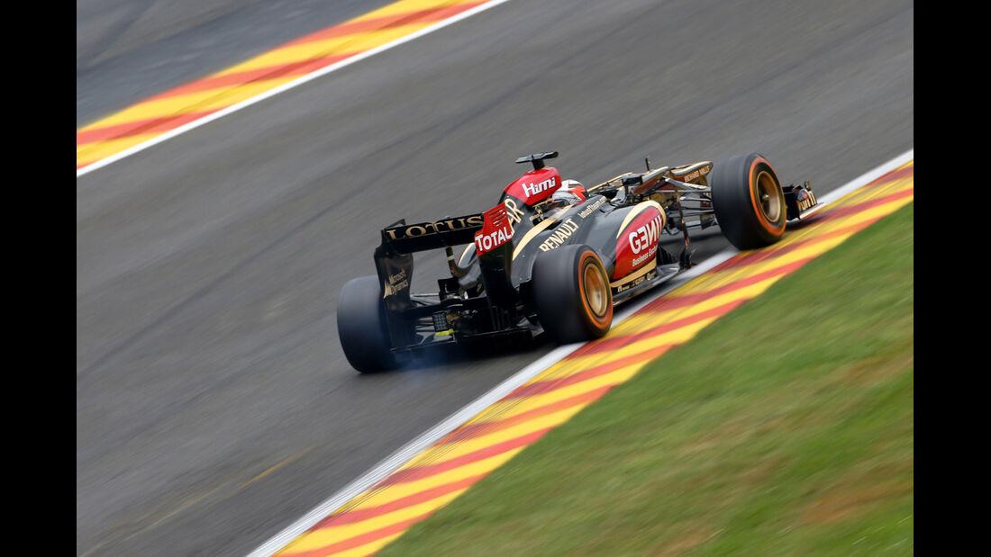 Kimi Räikkönen - Lotus - Formel 1 - GP Belgien - Spa Francorchamps - 23. August 2013