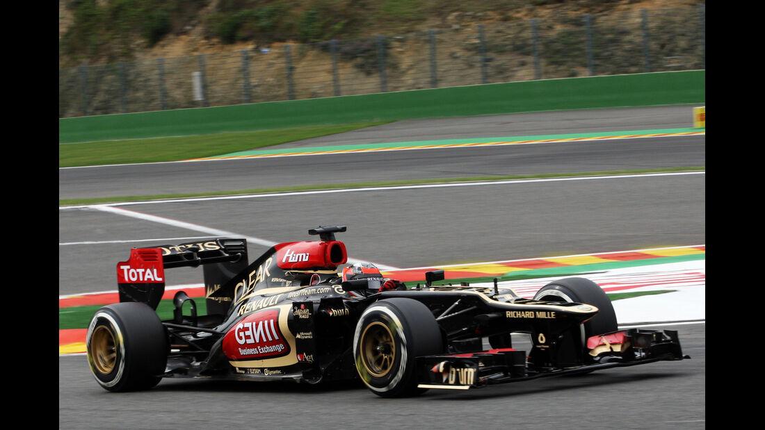 Kimi Räikkönen - Lotus - Formel 1 - GP Belgien - Spa-Francorchamps - 24. August