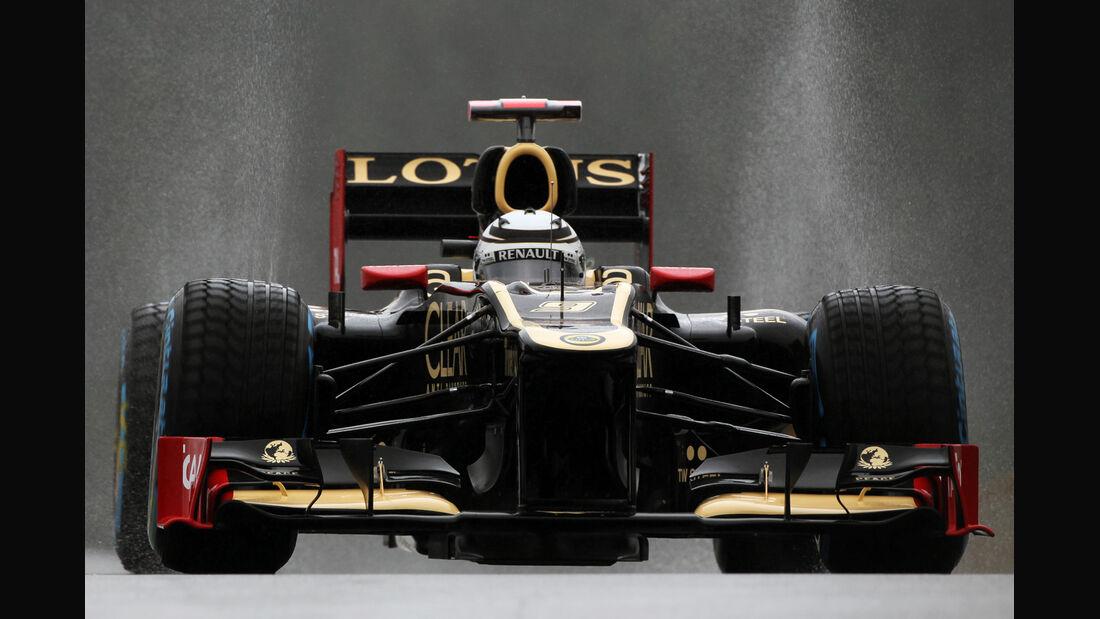 Kimi Räikkönen - Lotus - Formel 1 - GP Belgien - Spa-Francorchamps - 31. August 2012