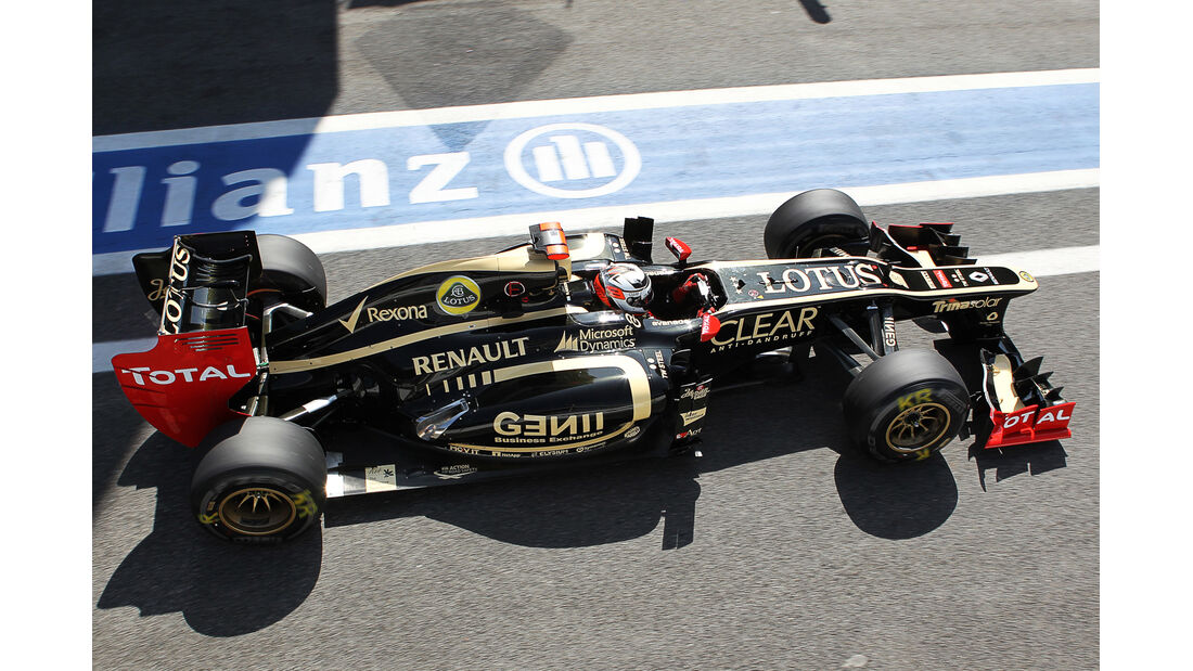 Kimi Räikkönen - Lotus - Formel 1 - GP Brasilien - Sao Paulo - 23. November 2012