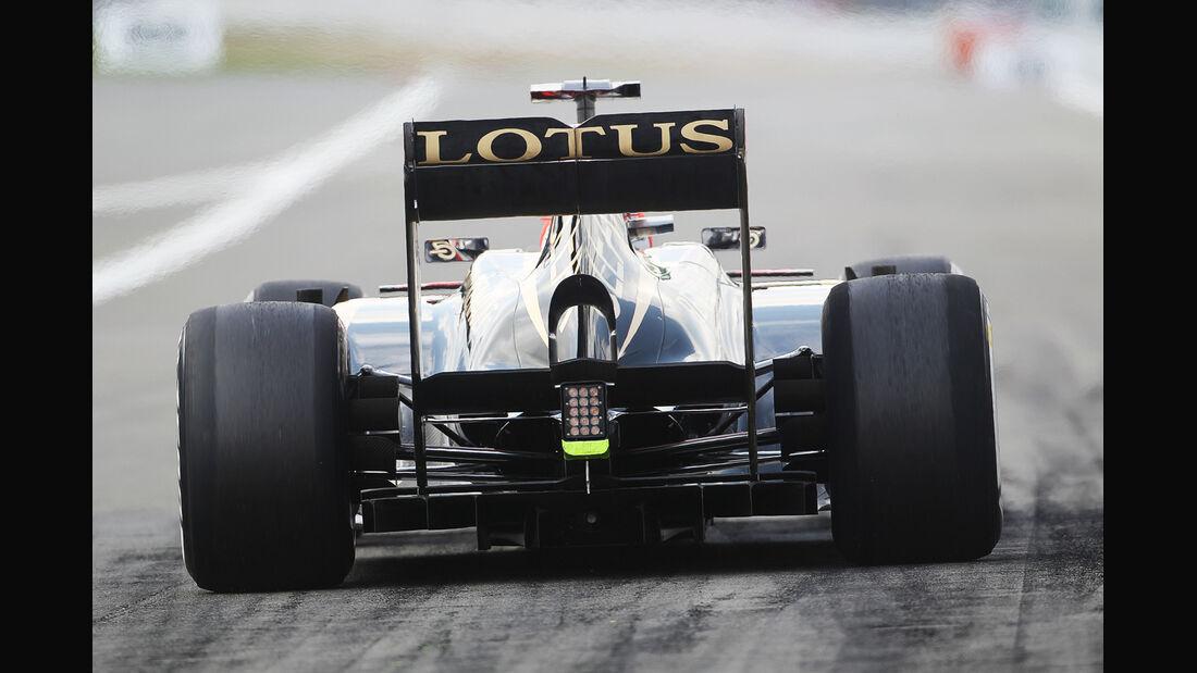 Kimi Räikkönen - Lotus - Formel 1 - GP Deutschland - 6. Juli 2013