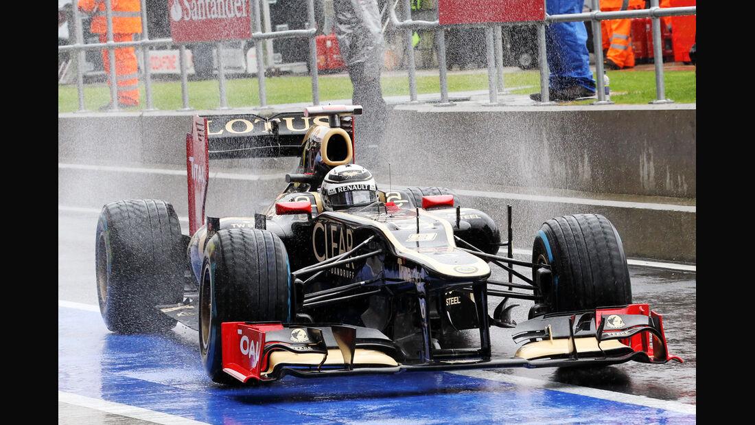 Kimi Räikkönen - Lotus - Formel 1 - GP England - Silverstone - 6. Juli 2012