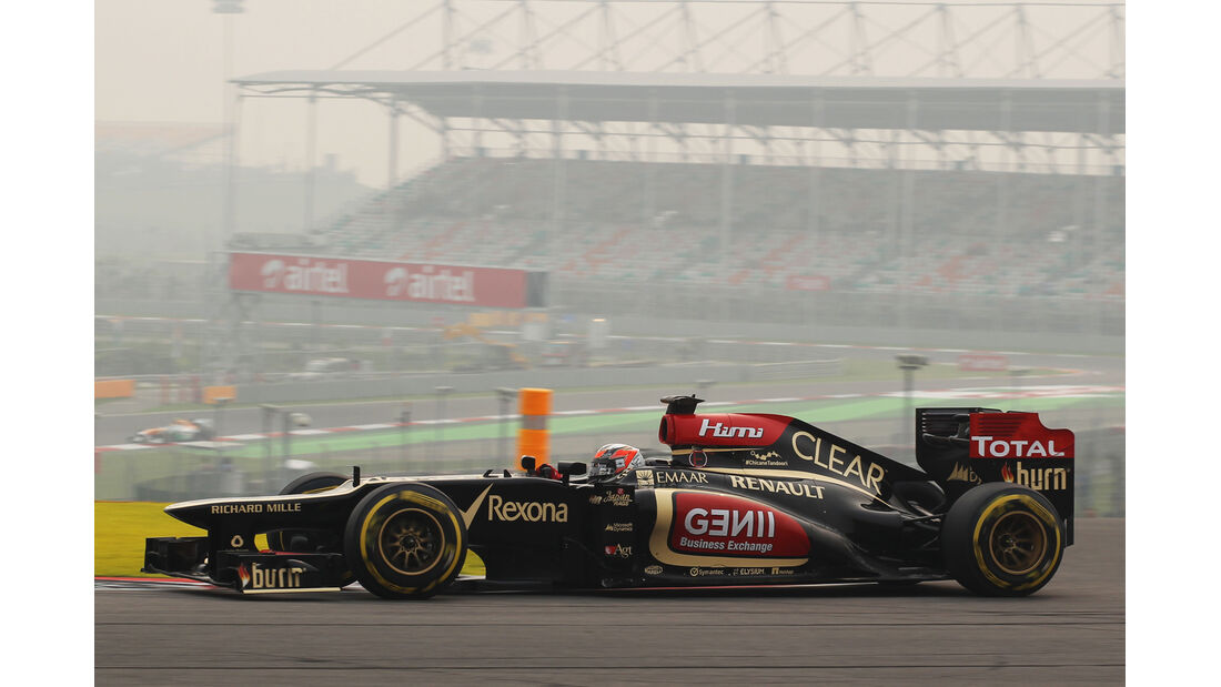Kimi Räikkönen - Lotus - Formel 1 - GP Indien - 25. Oktober 2013