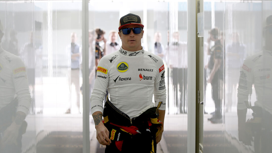 Kimi Räikkönen - Lotus - Formel 1 - GP Indien - 26. Oktober 2013