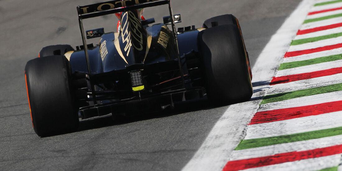 Kimi Räikkönen - Lotus - Formel 1 - GP Italien - 6. September 2013