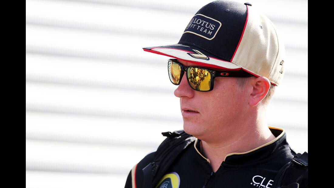 Kimi Räikkönen - Lotus - Formel 1 - GP Italien - 7. September 2013