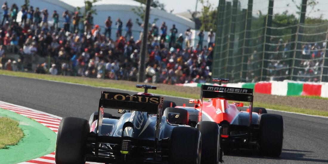Kimi Räikkönen - Lotus - Formel 1 - GP Japan - 12. Oktober 2013