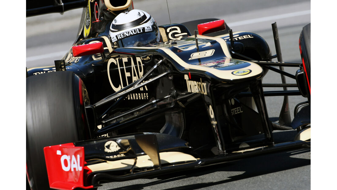 Kimi Räikkönen - Lotus - Formel 1 - GP Kanada - 10. Juni 2012