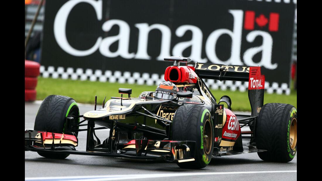 Kimi Räikkönen - Lotus - Formel 1 - GP Kanada - 8. Juni 2013