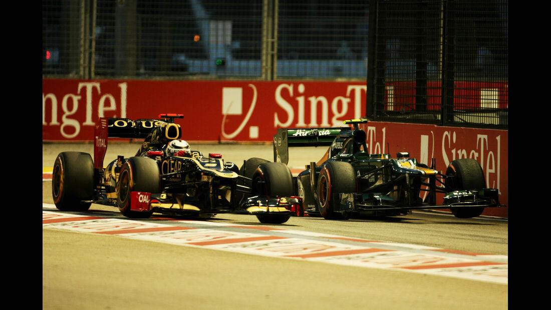 Kimi Räikkönen - Lotus - Formel 1 - GP Singapur - 22. September 2012