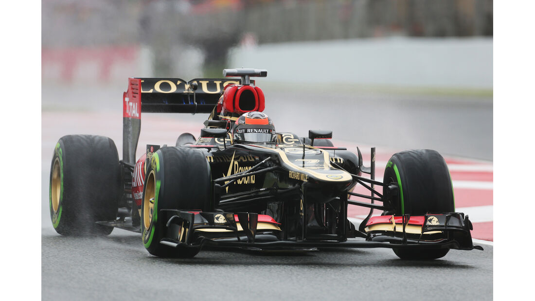 Kimi Räikkönen - Lotus - Formel 1 - GP Spanien - 10. Mai 2013