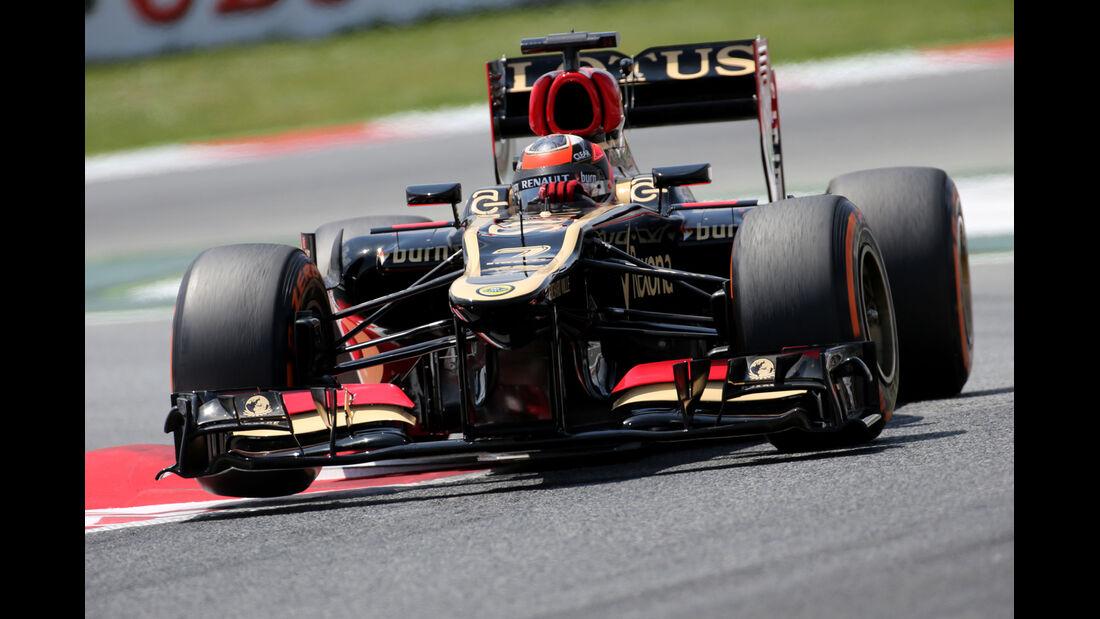 Kimi Räikkönen - Lotus - Formel 1 - GP Spanien - 11. Mai 2013