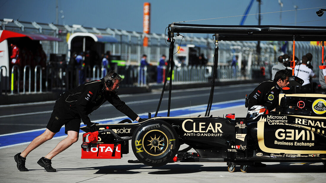 Kimi Räikkönen - Lotus - Formel 1 - GP USA - Austin - 16. November 2012