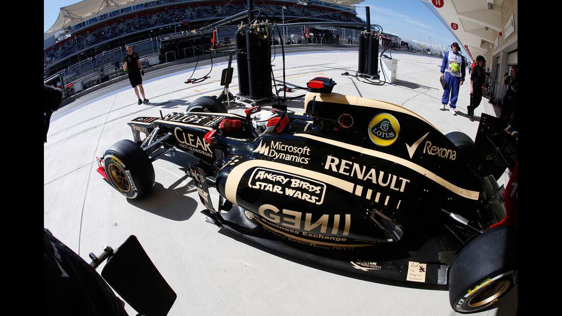 Kimi Räikkönen - Lotus - Formel 1 - GP USA - Austin - 17. November 2012