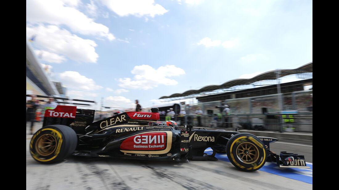 Kimi Räikkönen - Lotus - Formel 1 - GP Ungarn - 26. Juli 2013