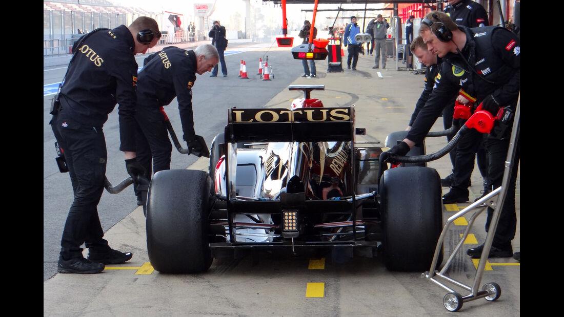 Kimi Räikkönen - Lotus - Formel 1 - Test - Barcelona - 20. Februar 2013