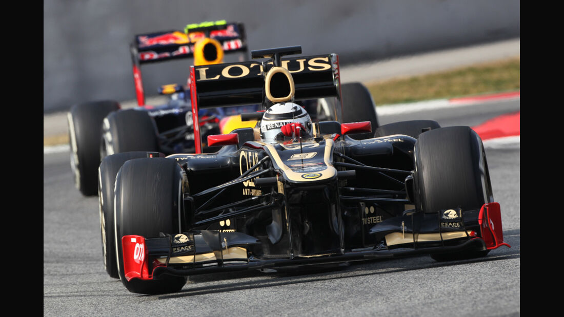 Kimi Räikkönen - Lotus - Formel 1-Test - Barcelona - 2012