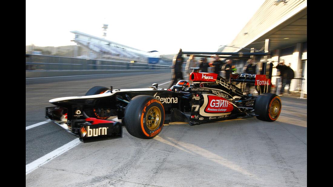 Kimi Räikkönen - Lotus - Formel 1 - Test - Jerez - 8. Februar 2013