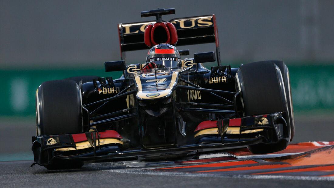 Kimi Räikkönen - Lotus - GP Abu Dhabi 2013
