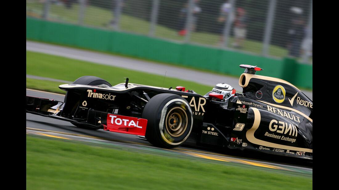 Kimi Räikkönen - Lotus - GP Australien - Melbourne - 16. März 2012