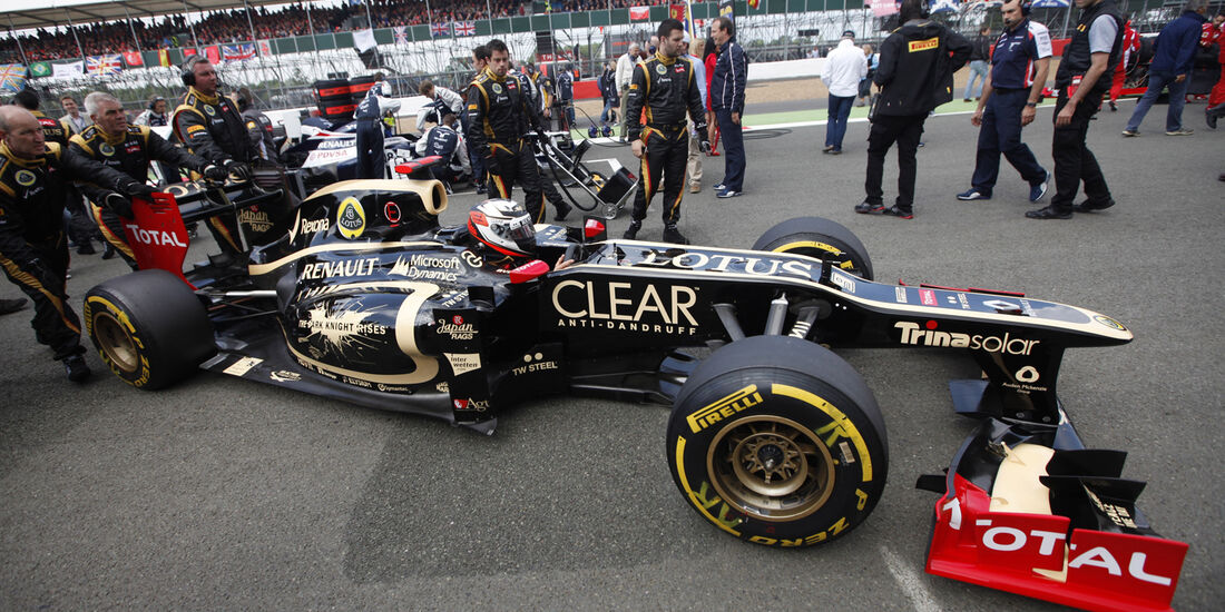 Kimi Räikkönen Lotus GP England 2012