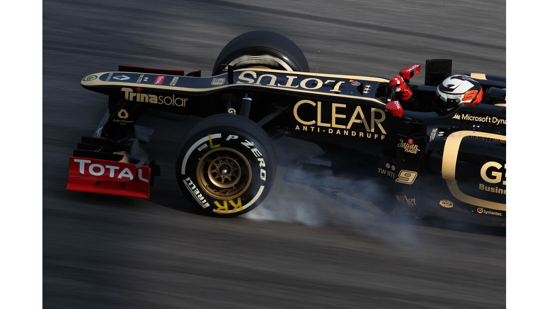 Kimi Räikkönen - Lotus - GP Malaysia 2012