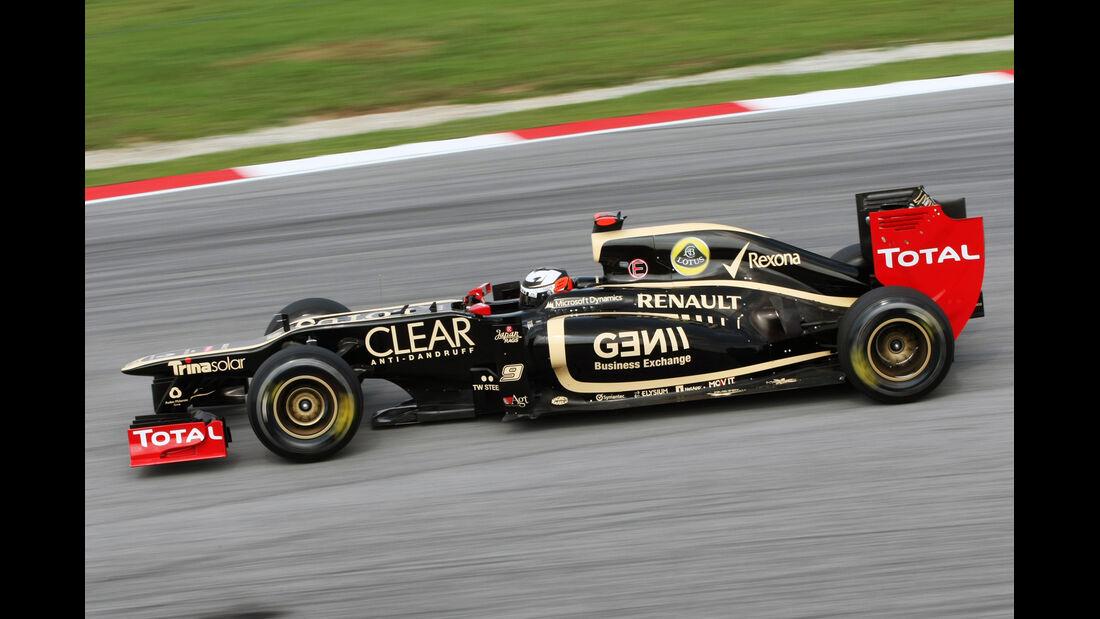 Kimi Räikkönen - Lotus - GP Malaysia - 24. März 2012