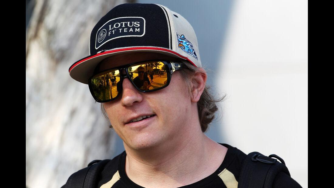 Kimi Räikkönen - Lotus - GP Malaysia - Training - 23. März 2012