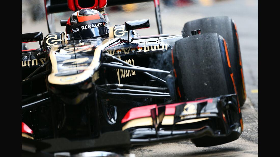 Kimi Räikkönen - Lotus - GP Spanien 2013