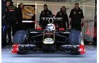 Kimi Räikkönen Lotus Renault 2012 R30 Valencia