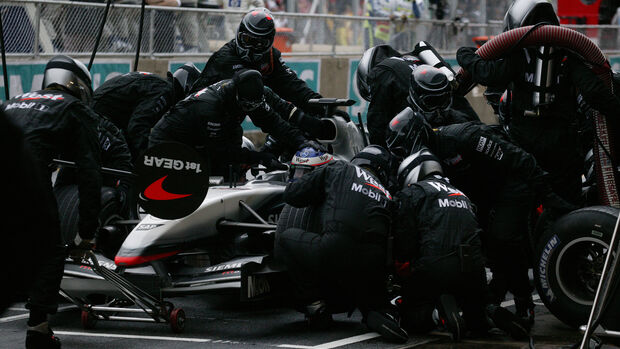 Kimi Räikkönen - McLaren - GP Brasilien 2003 - Interlagos