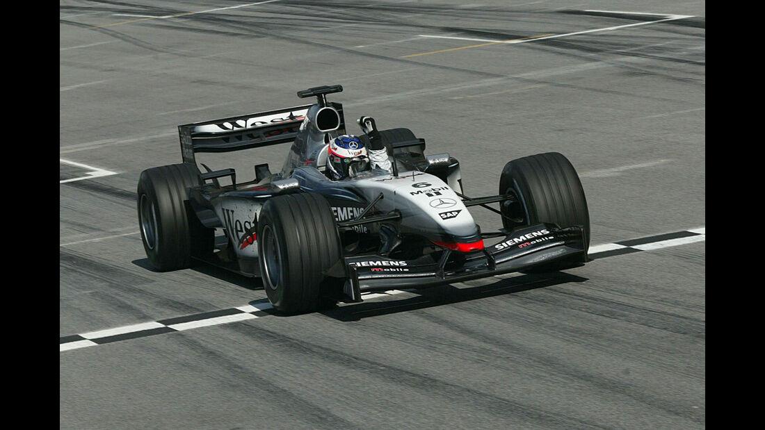 Kimi Räikkönen - McLaren - GP Malaysia 2003