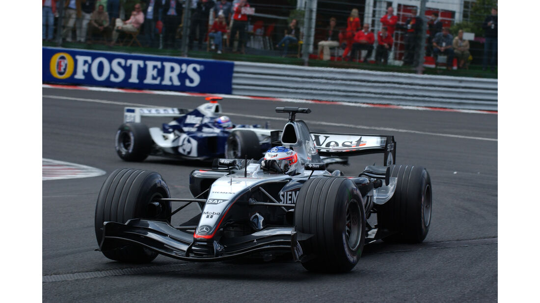 Kimi Räikkönen - McLaren MP4/19B - GP Belgien 2004 - Spa