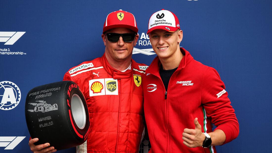 Kimi Räikkönen - Mick Schumacher - GP Italien 2018 - Monza