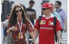 Kimi Räikkönen & Minttu Virtanen - Formel 1 - GP Italien - Monza - 3. September 2016