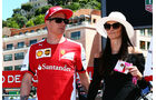 Kimi Räikkönen - Minttu Virtanen - Formel 1 - GP Monaco - Freitag - 22. Mai 2015