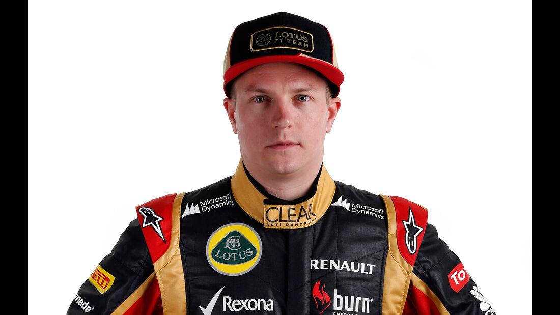 Kimi Räikkönen Porträt 2013