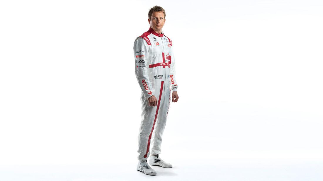 Kimi Räikkönen - Potrait - Alfa Romeo - F1 - 2021
