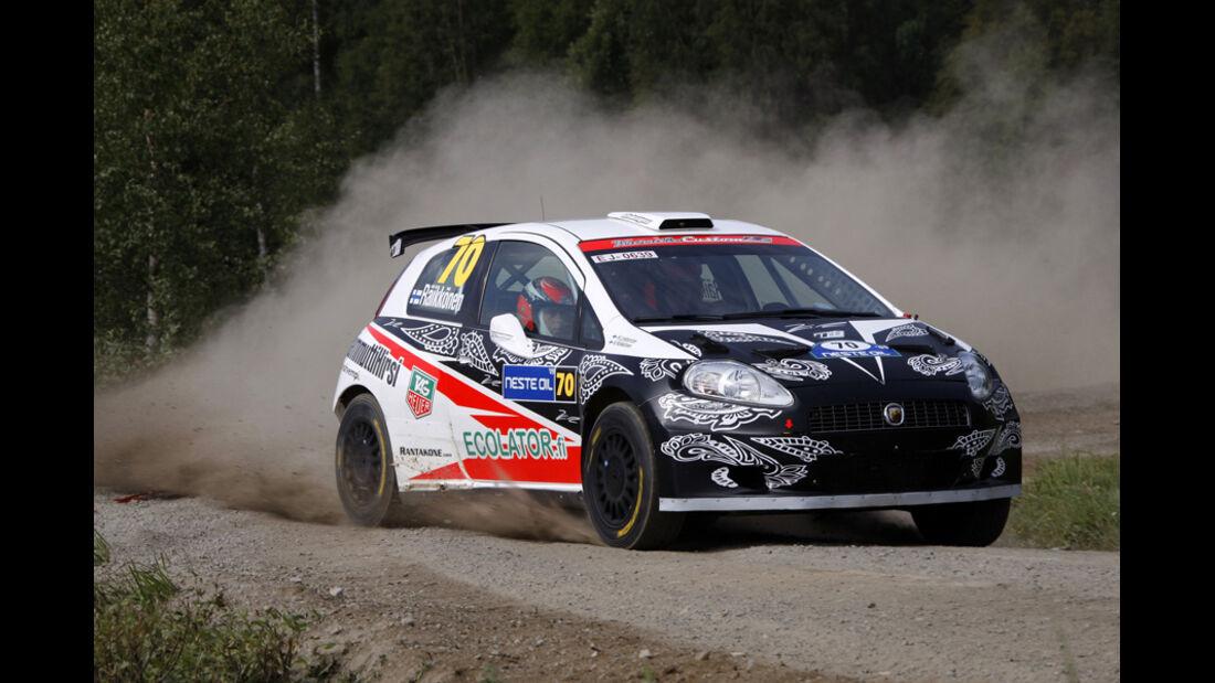 Kimi Räikkönen Rallye Fiat 2009