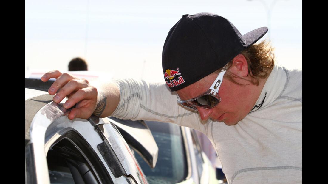 Kimi Räikkönen - Rallye Jordanien 2011