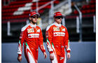 Kimi Räikkönen & Sebastian Vettel - Ferrari - Barcelona - 2016