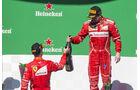 Kimi Räikkönen & Sebastian Vettel - GP Brasilien 2017