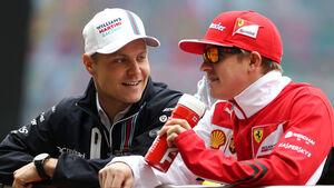 Kimi Räikkönen & Valtteri Bottas - GP China 2015