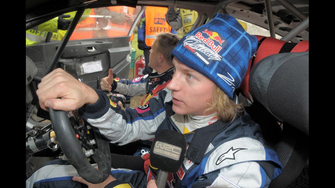 Kimi Räikkönen WRC 2011