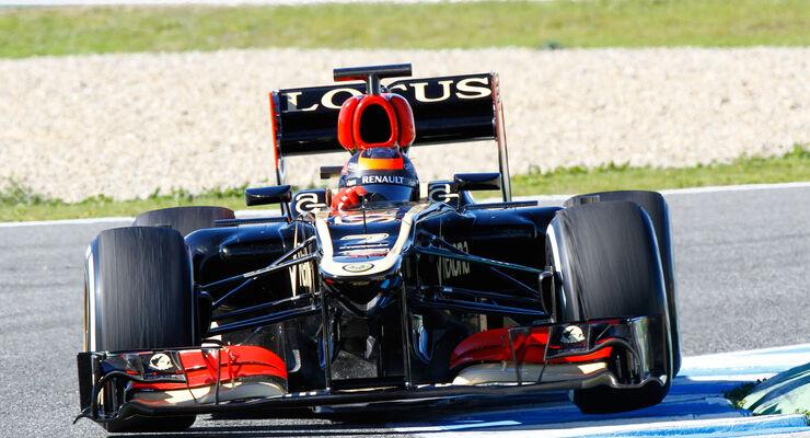 Kimi Raikkonen, Lotus, Formel 1-Test, Jerez, 8. Februar 2013