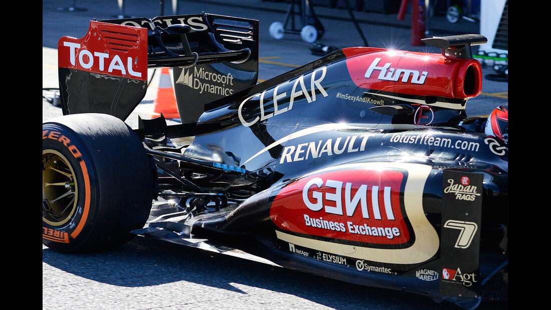 Kimi Raikkonen, Lotus Renault GP, Formel 1-Test, Jerez, 7.2.2013