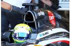 Kimiya Sato - Sauber - Young Drivers Test - Silverstone - 19. Juli 2013
