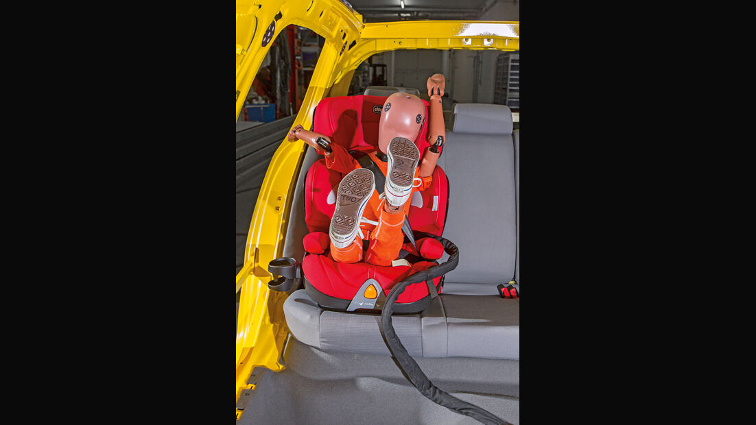 Kindersitz-Crashtest, Chicco Oasys 2.3 Fix Plus