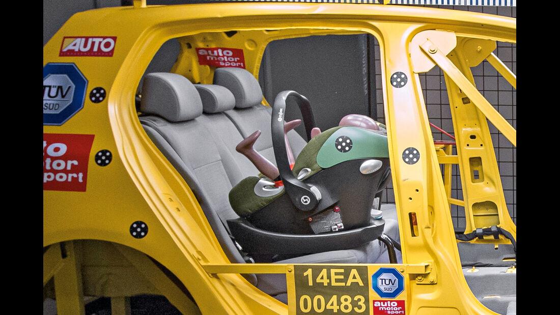 Kindersitz-Crashtest, Cybex Aton Q